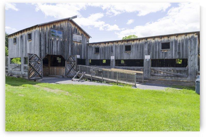 Replica Saw Mill 1 by Bob Corson