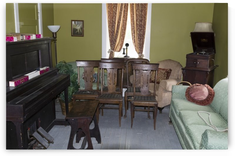 Music Room Duford house by Bob Corson