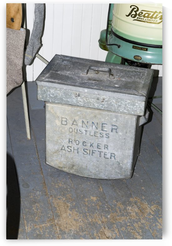 Banner Dustless Rocker Ash Sifter by Bob Corson
