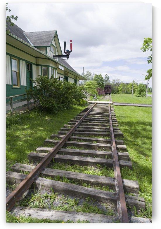 Vars Train Station by Bob Corson