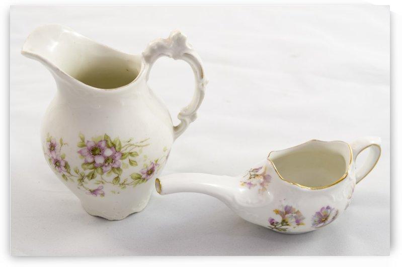 Antique Painted Porcelain 2 by Bob Corson