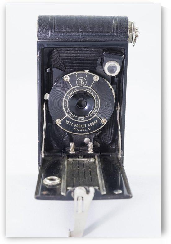 Kanata Ontario Canada April 7 2017: Kodak Vest Pocket Camera Model 1B 4 by Bob Corson