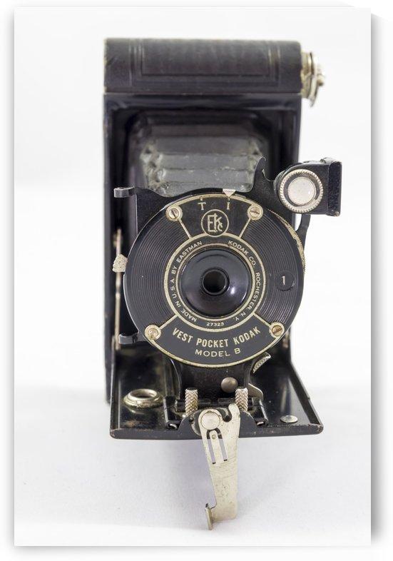 Kanata Ontario Canada April 7 2017: Kodak Vest Pocket Camera Model 1B 3 by Bob Corson