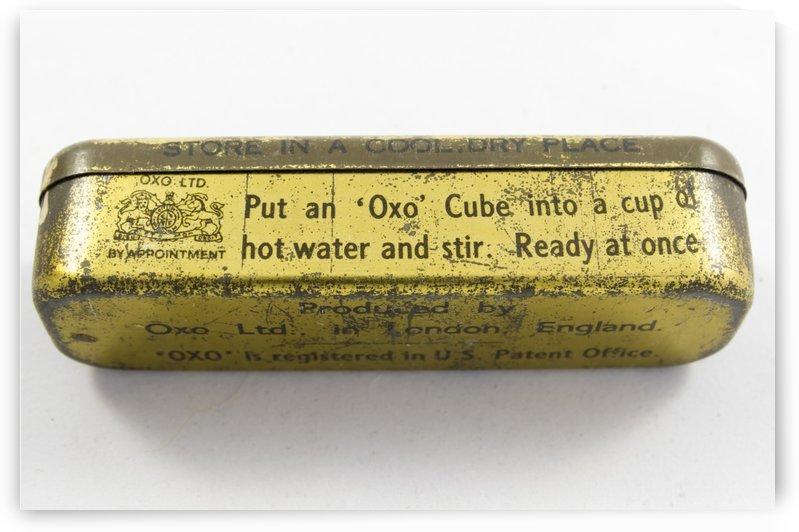 Vintage OXO boullion cube tin container 1 by Bob Corson