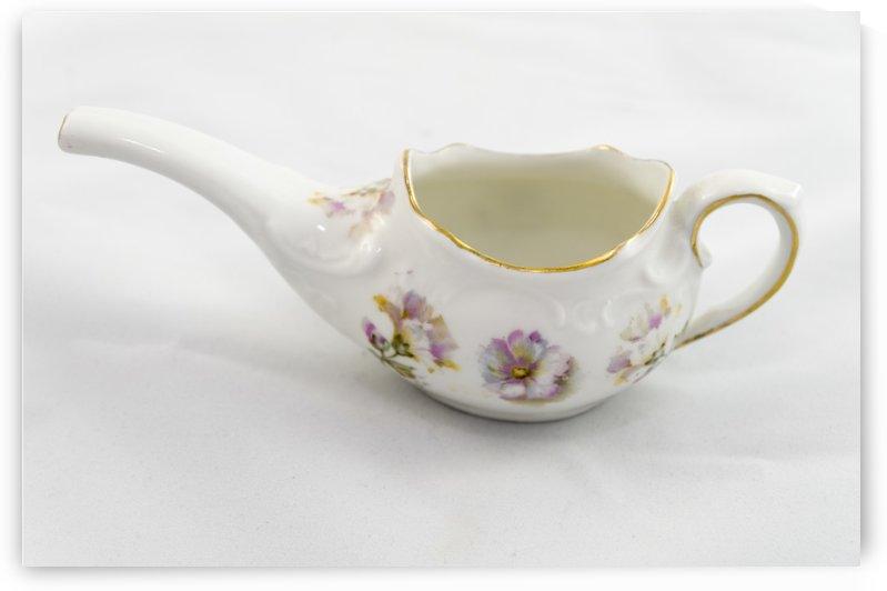 Antique painted porcelain 1 by Bob Corson