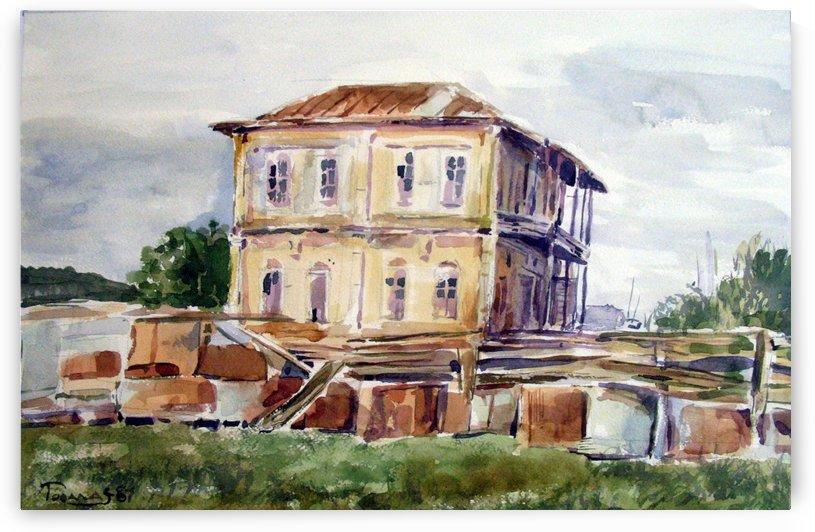 Old House by JAMALEDDIN TOOMAJNIA