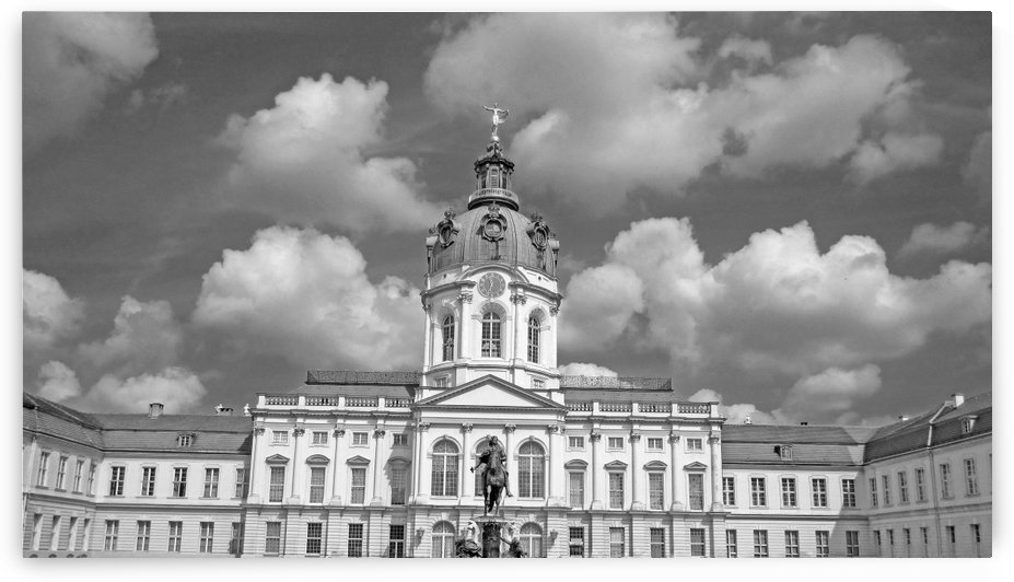 Charlottenburg Palace B&W by Gods Eye Candy