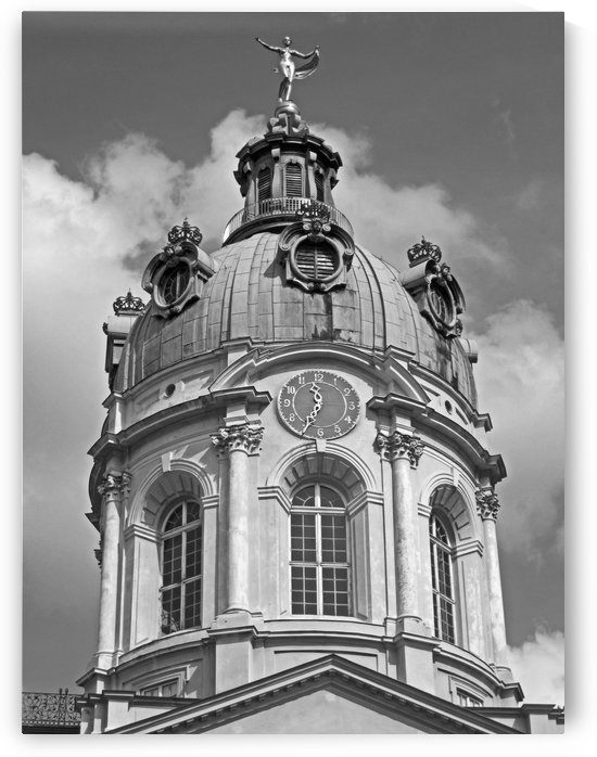 Morning at Charlottenburg B&W by Gods Eye Candy