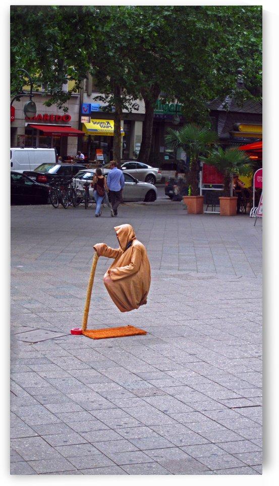 Levitating Man by Gods Eye Candy