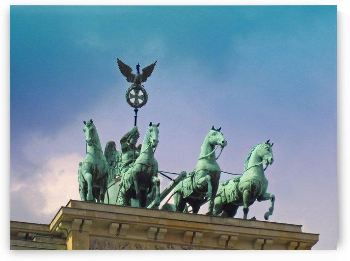 Brandenburg Gate by Gods Eye Candy