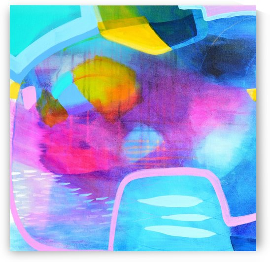 Colourful Abstract I by Tracy-Ann Marrison