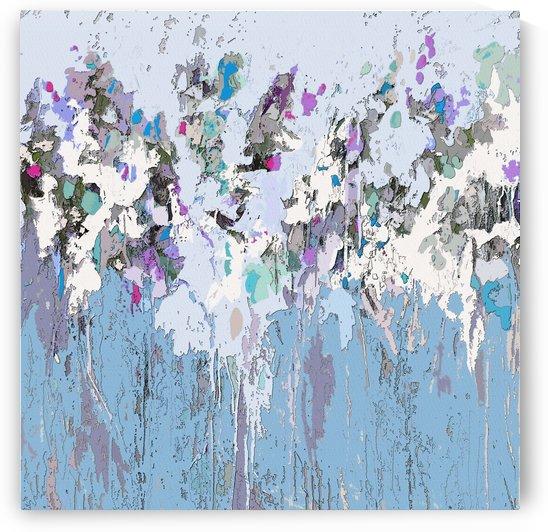 Bloom II Blue by Tracy-Ann Marrison