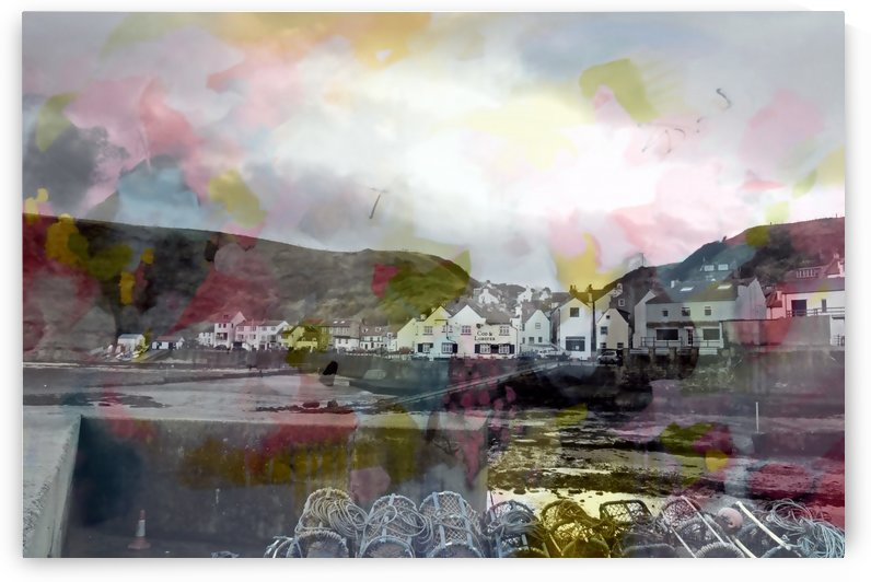 Colourful Staithes I by Tracy-Ann Marrison