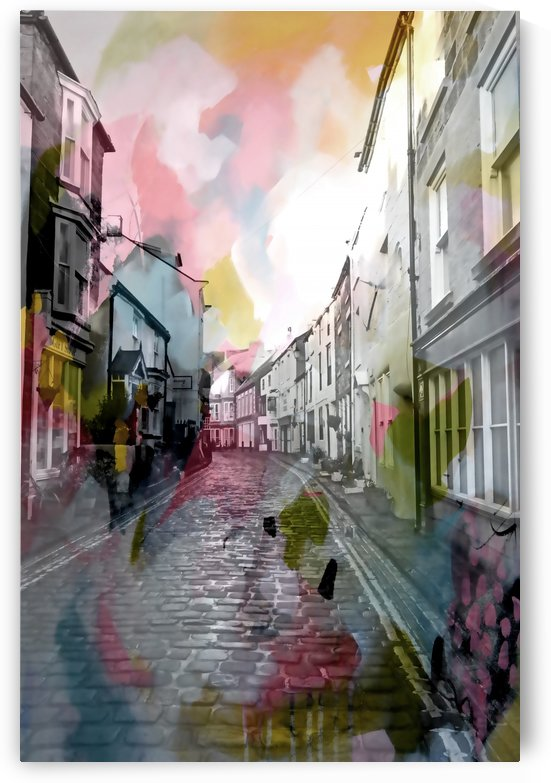 Colourful Staithes IV by Tracy-Ann Marrison