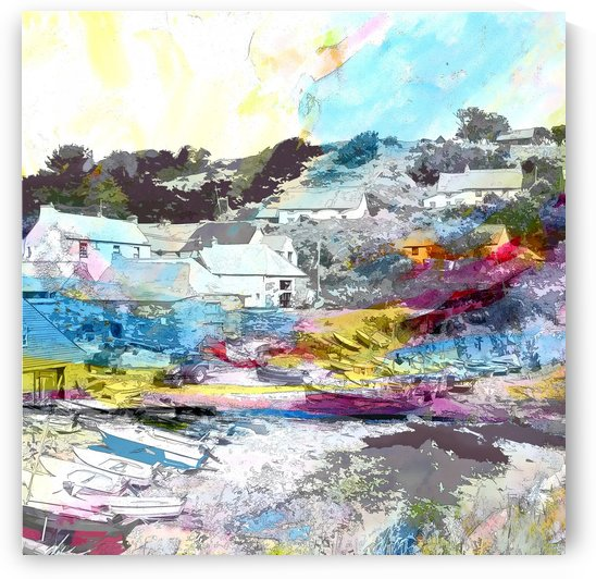 Cadgwith Cove I by Tracy-Ann Marrison