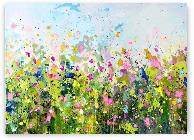 Abstract Meadow by Tracy-Ann Marrison