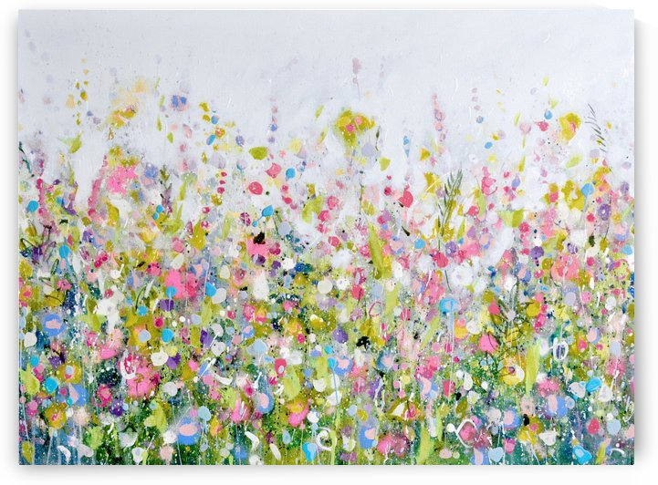 Pale Pink Meadow by Tracy-Ann Marrison