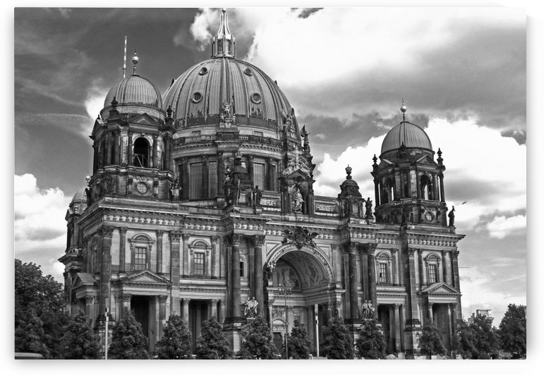 Berlin Cathedral B&W by Gods Eye Candy