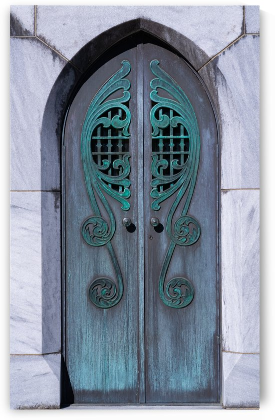 Mausoleum Doors  by Melody Rossi