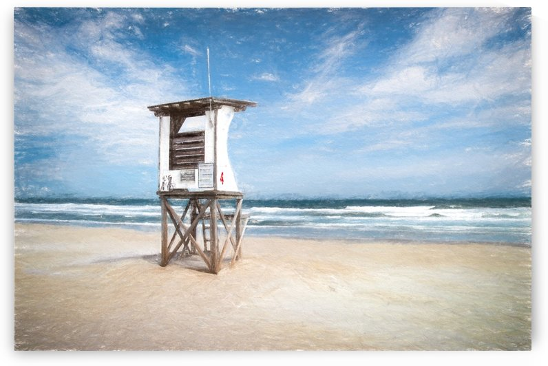 Lifeguard Station 4 by Ricky A Richardson
