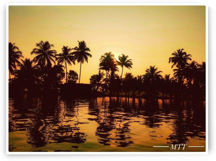 Kerala backwaters by MTT