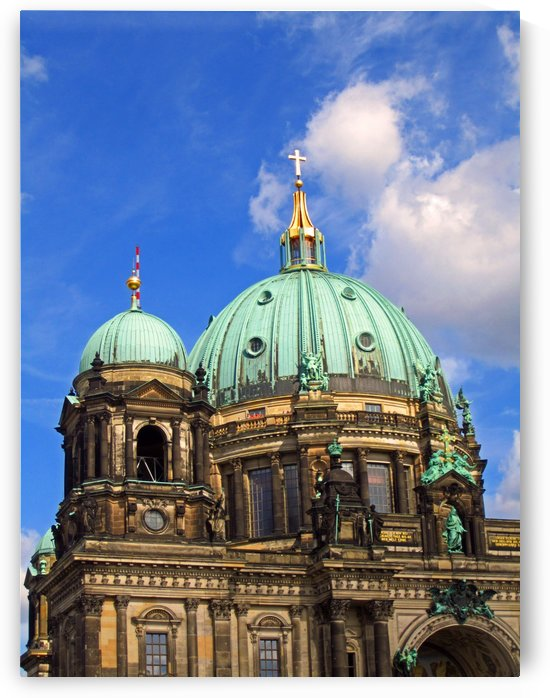 Berliner Dom by Gods Eye Candy