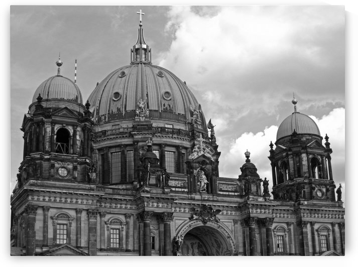 Largest Church Building in Berlin by Gods Eye Candy