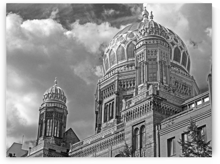Synagogue B&W by Gods Eye Candy