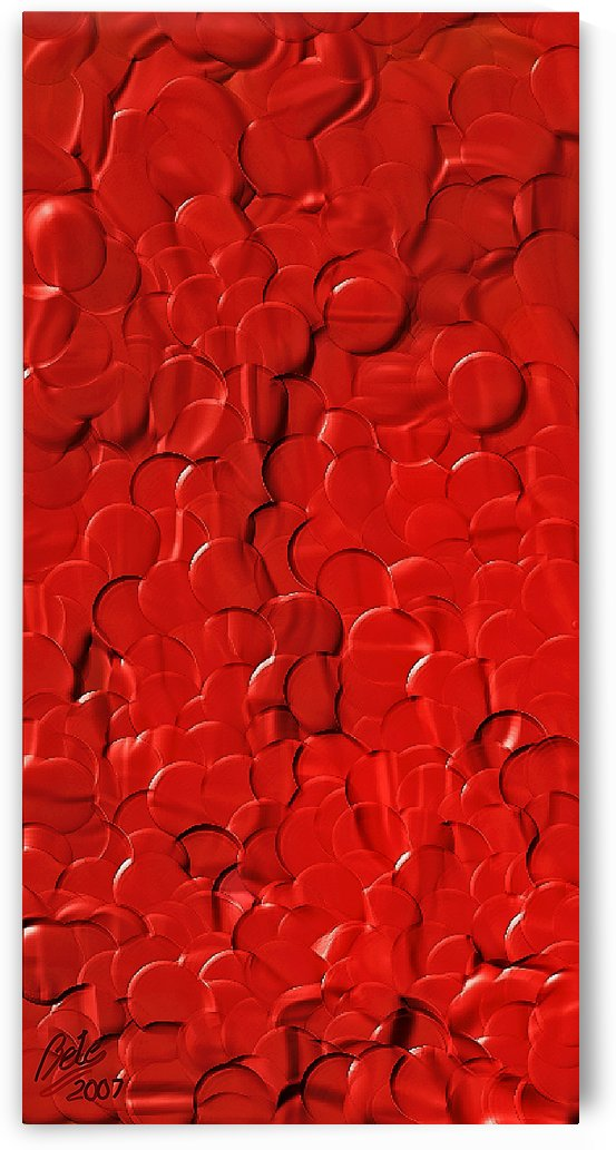 Red cells by Betty De Oliveira