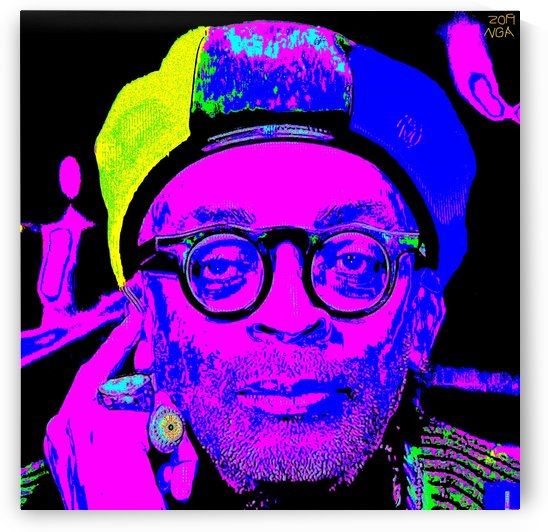 Spike Lee  -  by Neil Gairn Adams  by Neil Gairn Adams
