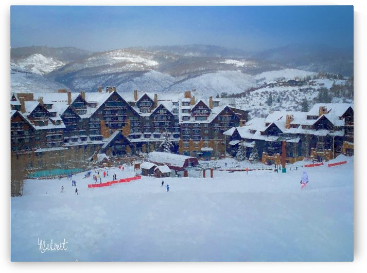 BACHELOR GULCH RITZ CARLTON by Nancy Calvert