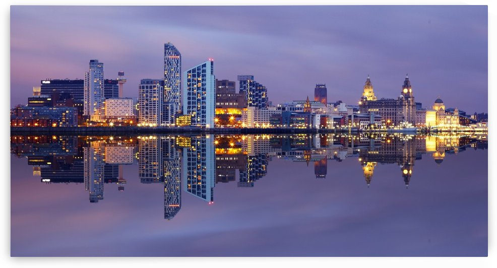 LIV 001 Liverpool Skyline by Michael Walsh