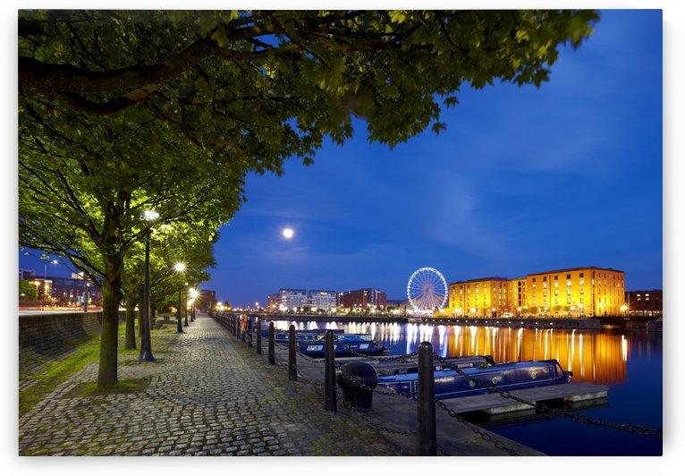 LIV 006 Albert Dock by Michael Walsh