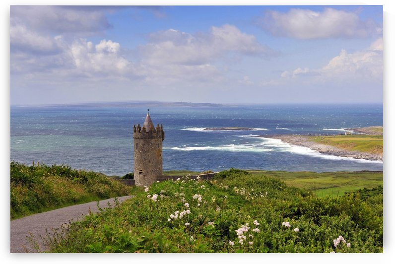 CE 058 Overlooking Doolin by Michael Walsh