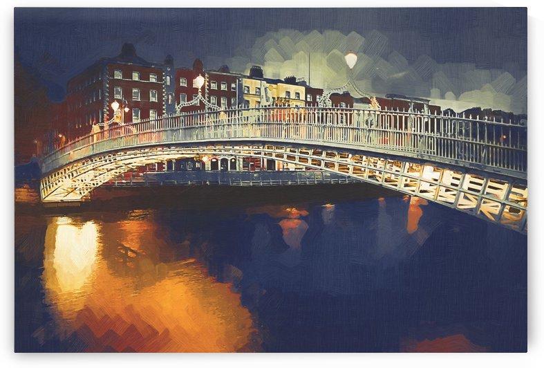 WOC D 007 Halfpenny Bridge by Michael Walsh
