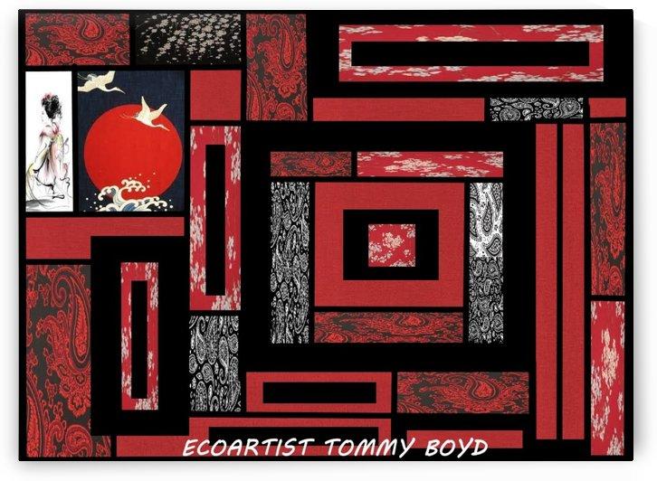 ecoartisttommyboydweedart by Eco-Artist Tommy Boyd
