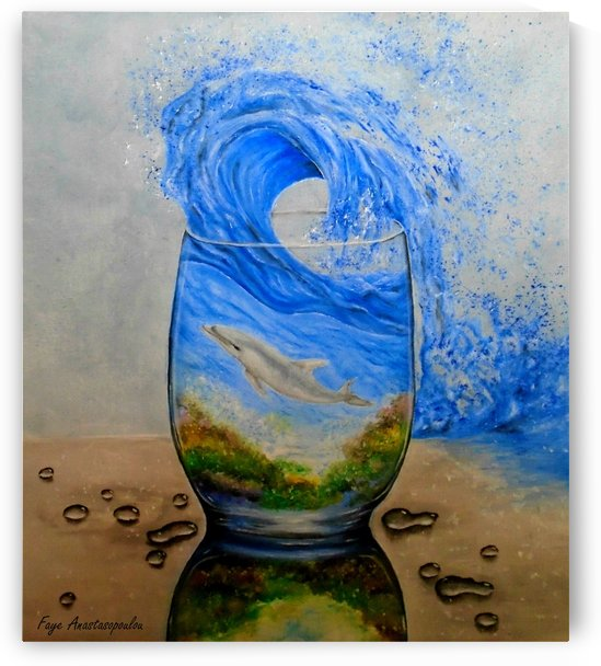 A Glass Of Ocean by Fotini Anastasopoulou