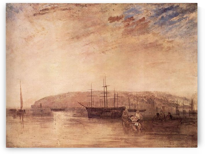 Storage of land from East Cowes by Joseph Mallord Turner by Joseph Mallord Turner