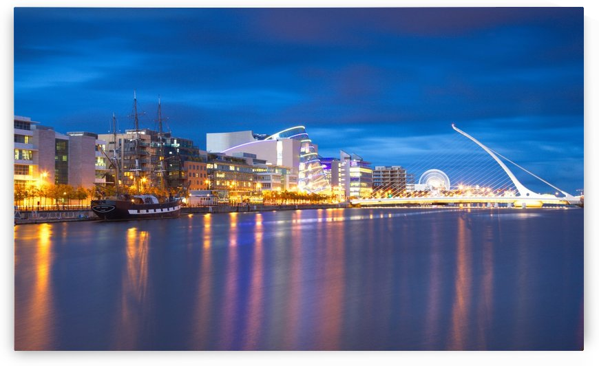 D 243 Dublin Docklands by Michael Walsh
