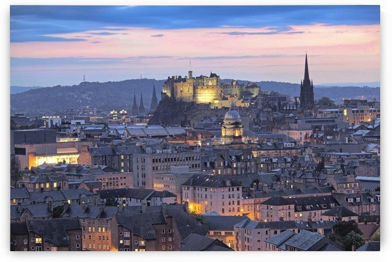 ED 009 Edinburgh Castle by Michael Walsh