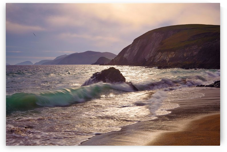 KY 598 Coumeenoole Strand, Dingle Peninsula, Co.Kerry by Michael Walsh