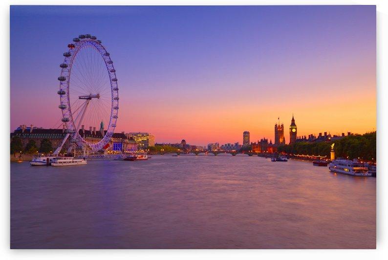 LON 015 London Eye  by Michael Walsh