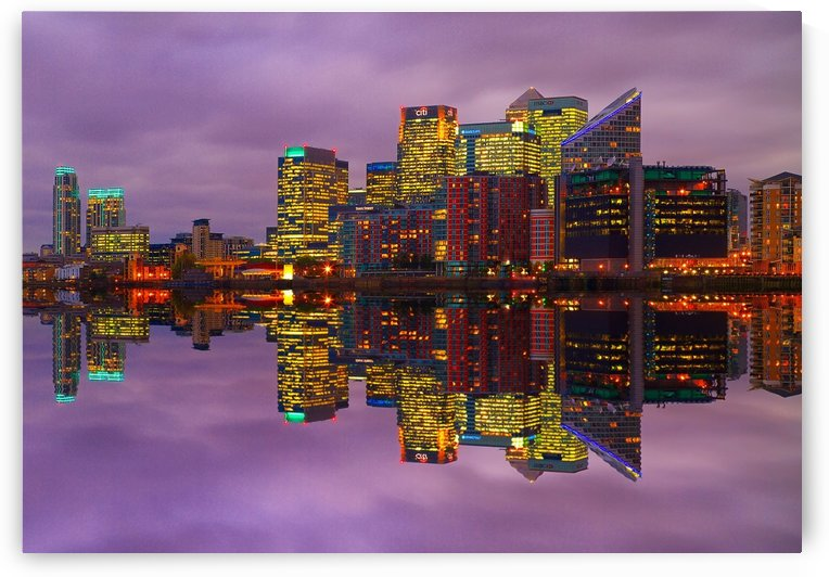 LON 008 Canary Wharf Reflection _1549702146.12 by Michael Walsh
