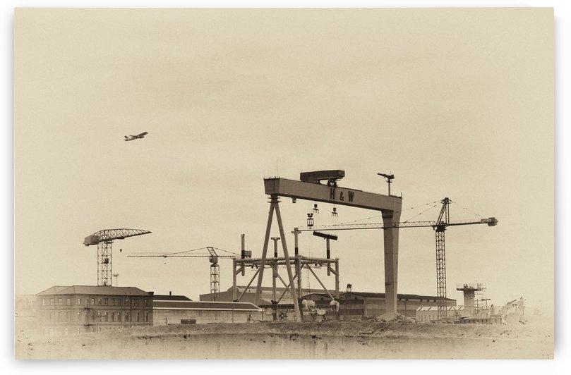 NI 073 Belfast Shipyard by Michael Walsh