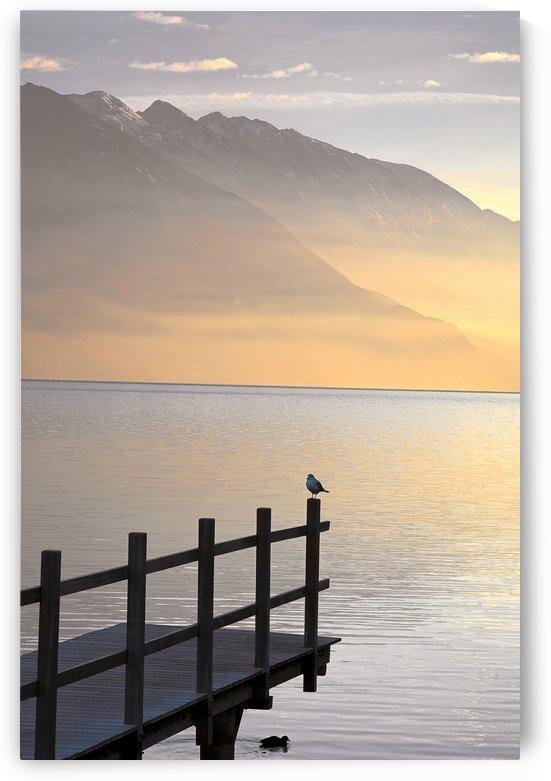 OS 004 Lake Garda by Michael Walsh