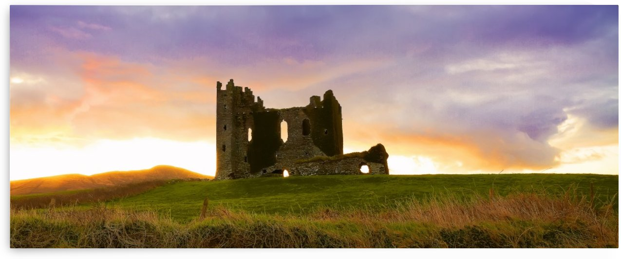 KY 578 Ballycarbery Castle, Cahersiveen by Michael Walsh