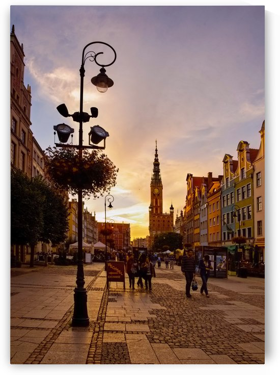 POL 014 Old Town, Gdansk by Michael Walsh