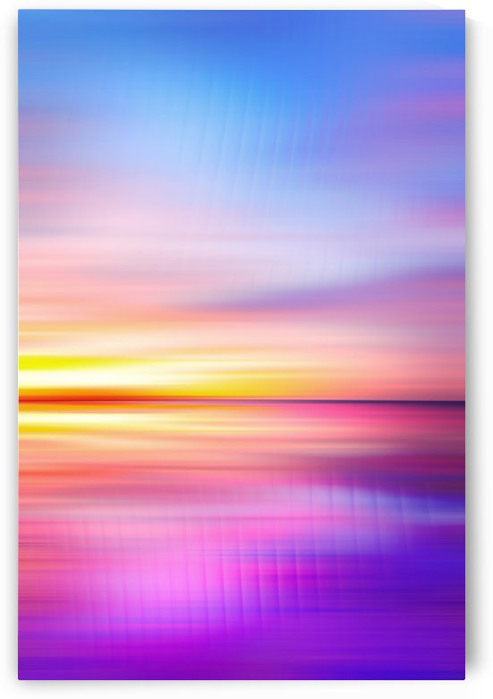 Abstract Sunset VII by Art Design Works
