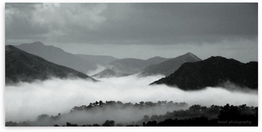 landscape black and white  by Adil BASSEL