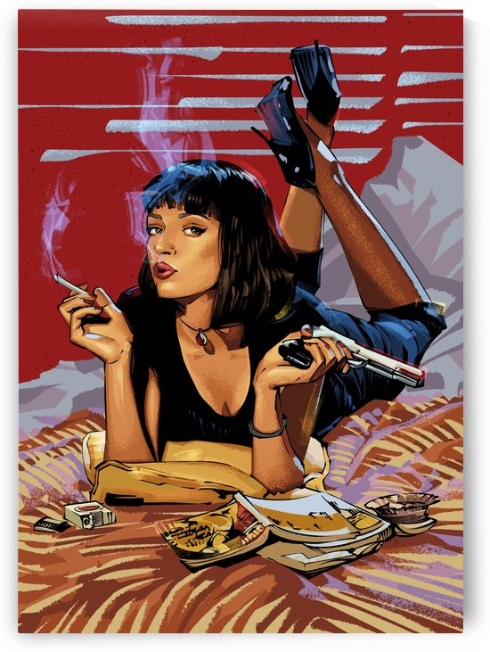 Pulp Fiction Mia by nabakumov